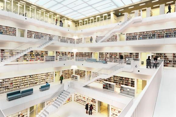 Mit OpenTraffic können auch ganz andere Themen wie Bibliotheken verknüpft werden. Bild CC-BY © Rob124, http://www.flickr.com/photos/15472273@N07/