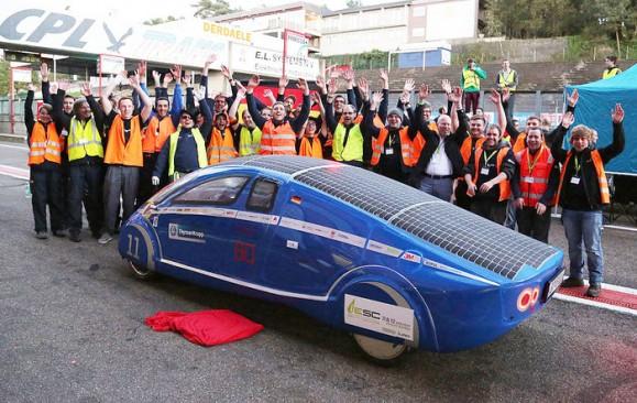 Das Team des PowerCore SunCruiser ist hochmotiviert. Bild © Hochschule Bochum.
