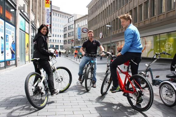 JEWO Batterietechnik begeistert durch seine Elektro-Fahrräder Bild © Katja Nikolic