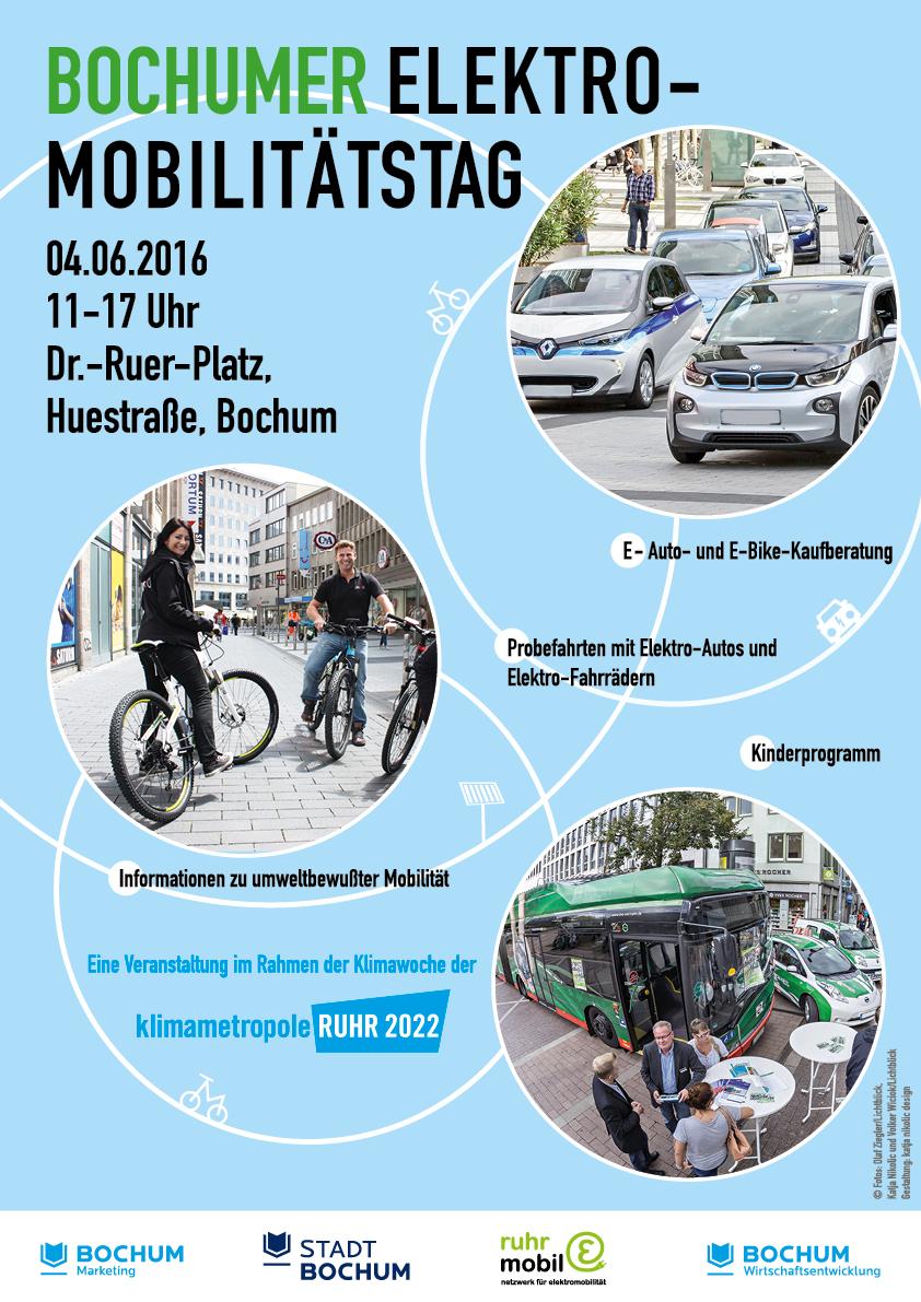 Plakat A3 ruhrmobil-E Elektromobilitätstag