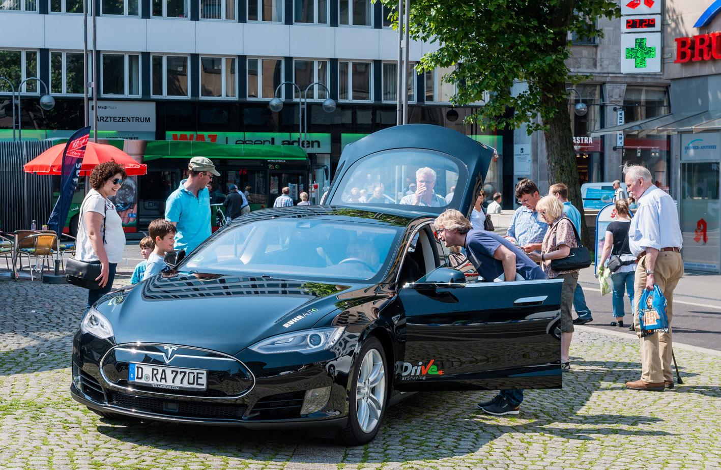 Elektomobilitätstag Foto © Olaf Ziegler, Lichtblick