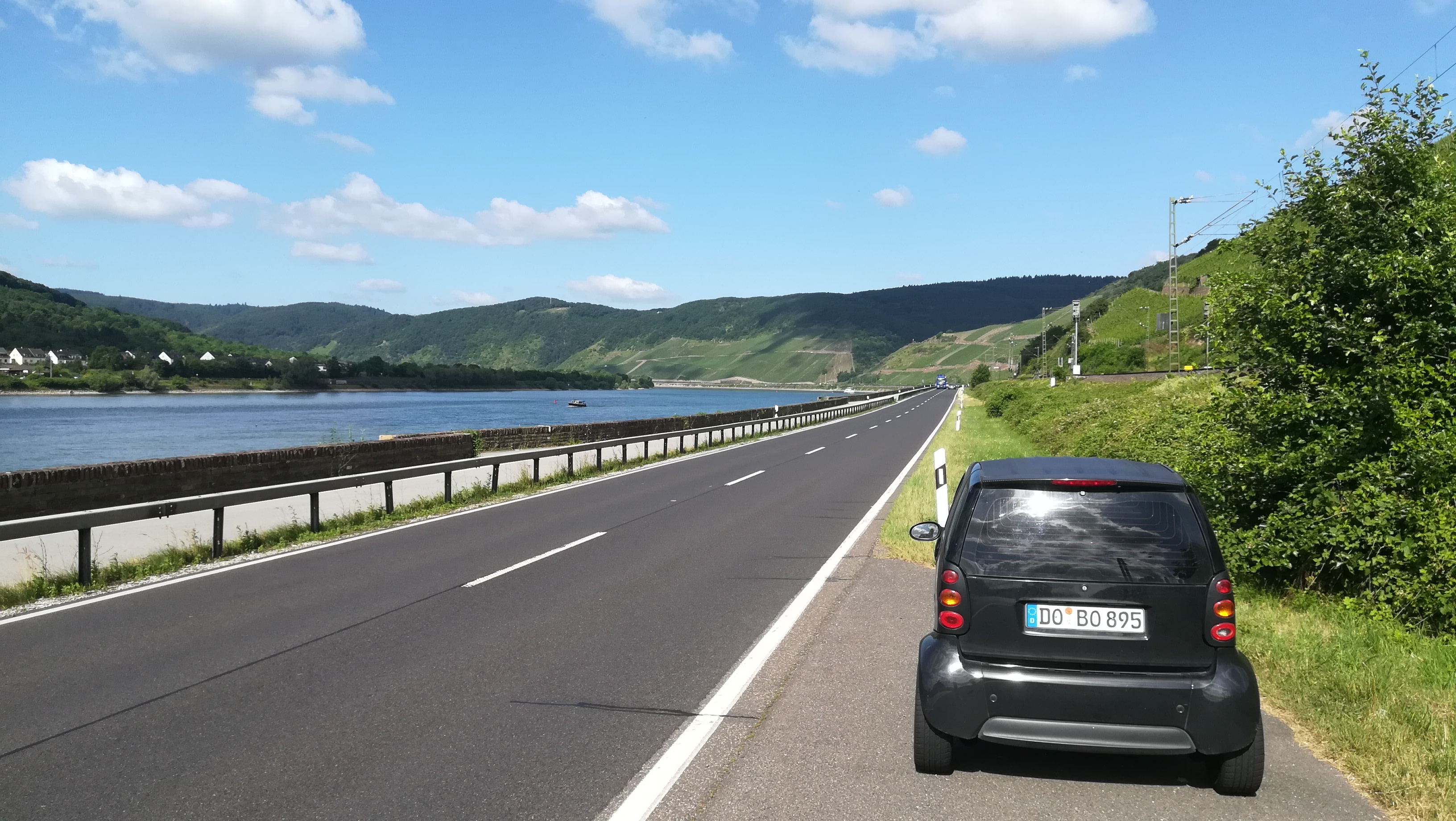 Tour entlang des Rheins Foto: Martin Behrs