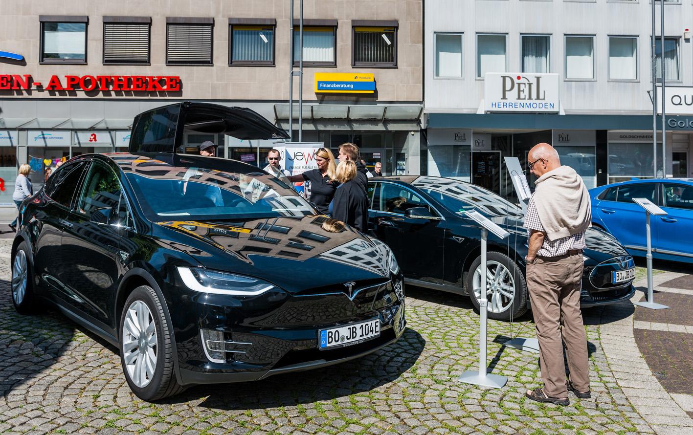 Elektromobilitätstag in Bochum. Foto: Olaf Ziegler, Lichtblick