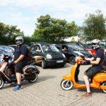 E-Roller auf der Tour de Ruhr, Foto: Katja Nikolic
