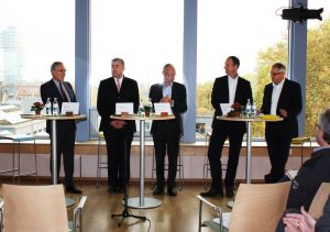 Pressekonferenz bei der GLS Bank Foto: Katja Nikolic