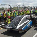 SolarCar der Hochschule Bochum, der Start Foto: Christina Beckermann