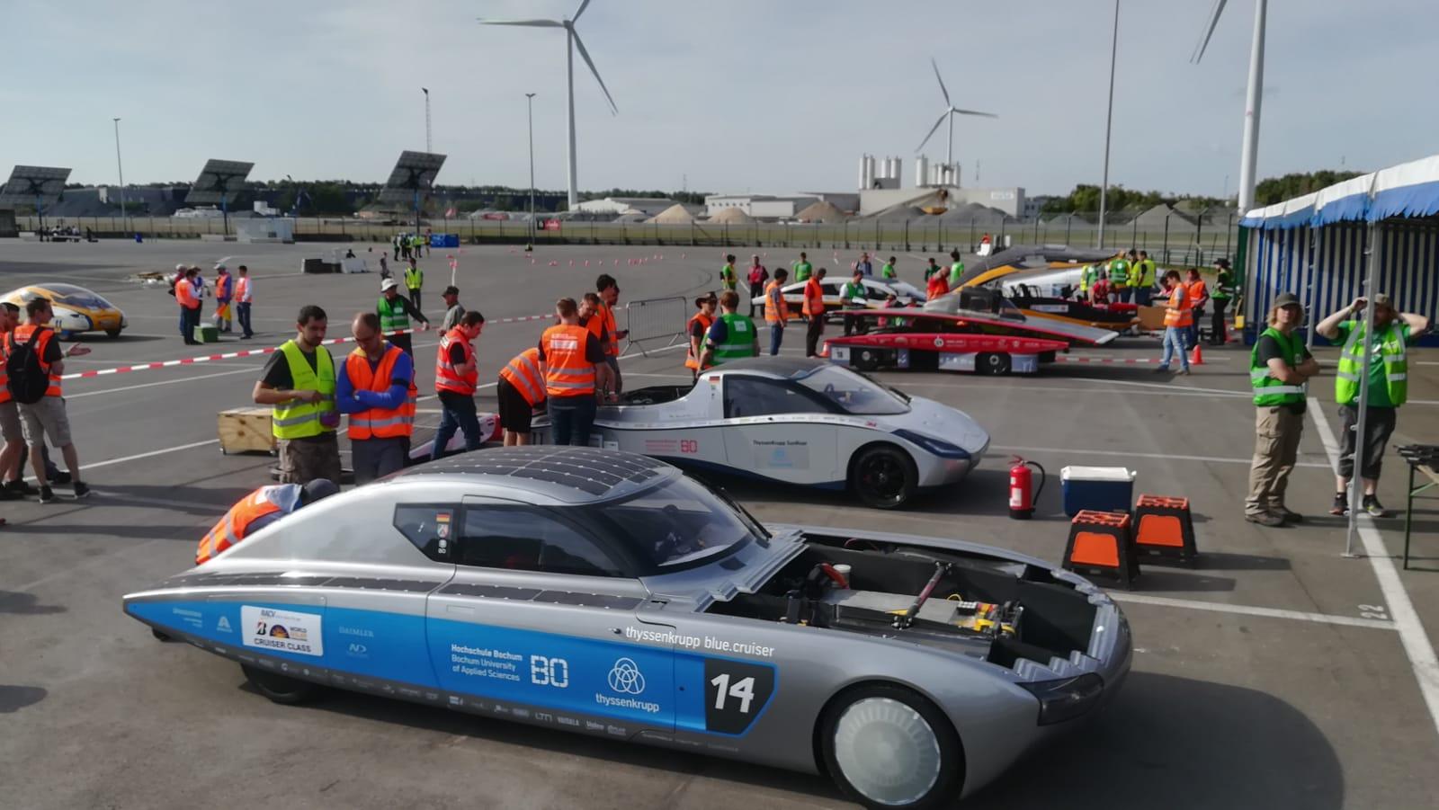 European Solar Car Challenge in Circuit Zoldern Foto: Martin Behrs