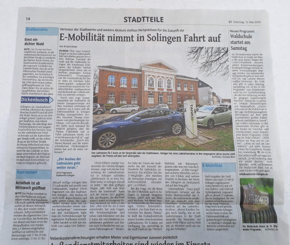 Artikel Solinger Tageblatt